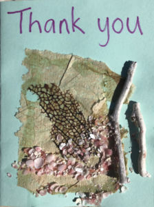 Clarevue Psychiatric Hospital - Thank you card